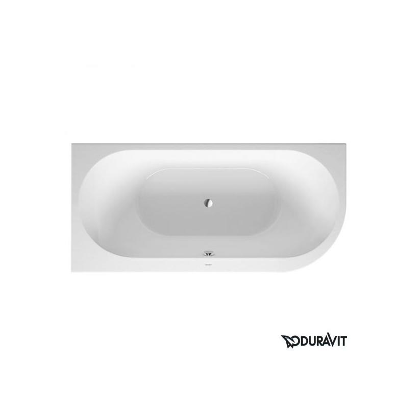 Duravit Darling New Badewanne 1900x900mm Ecke links, mit Acrylverkleidung, weiß 700246000000000