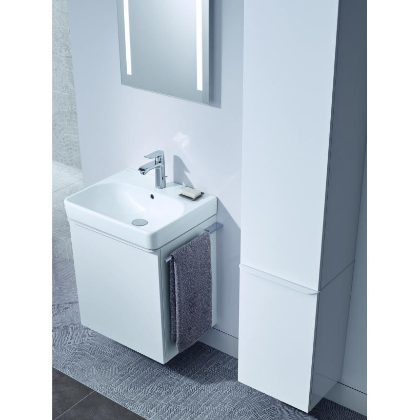 Geberit Smyle Square Mittelhochschrank 1-Tür 360x1180x299mm, weiß 500361001