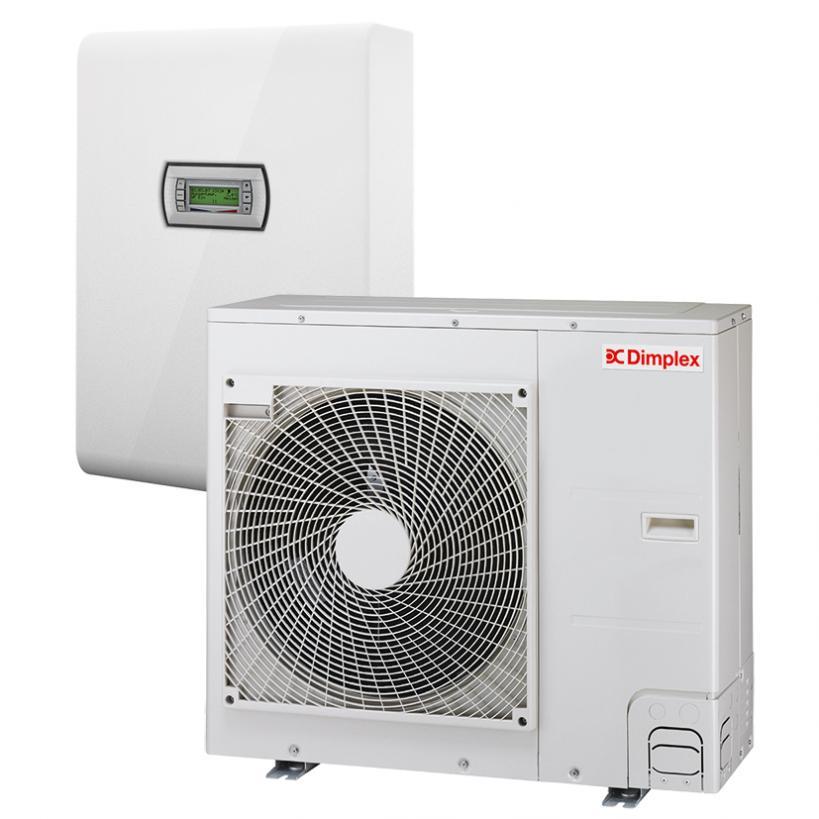 Glen Dimplex Deutschland Dimplex L/W-Split-Wärmepumpe Kompakt H/K LAK 9IMR mit Inneneinh., 5,6-9,0kW 372920