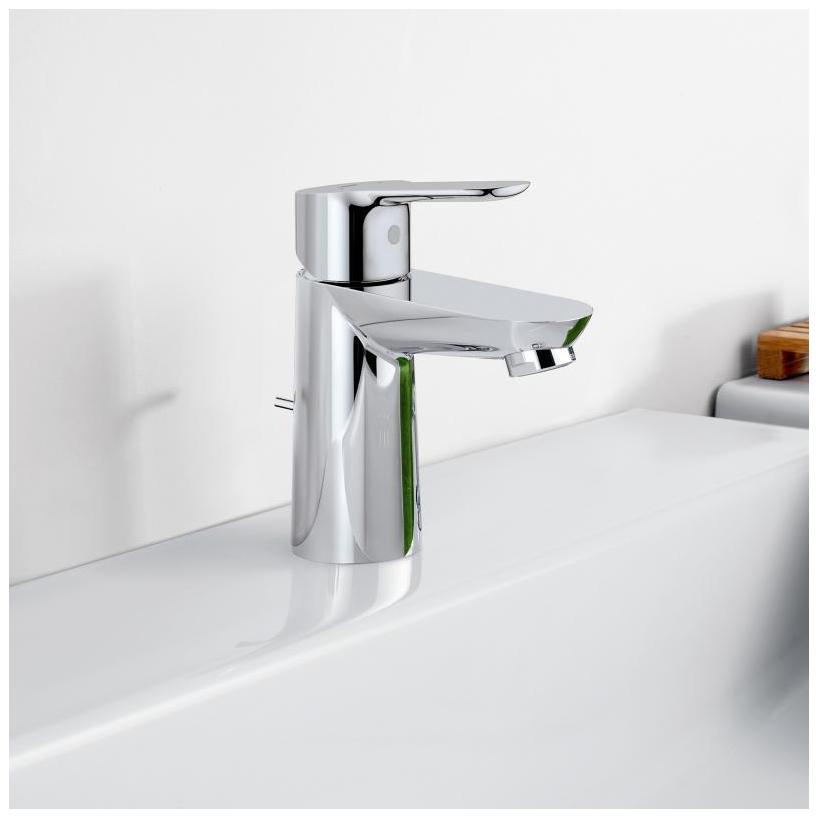 Grohe Waschtisch-Standventil BauEdge chrom 20421000