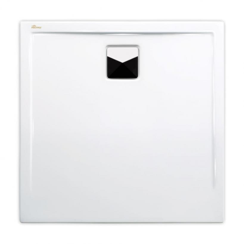 Polypex Plano Duschwanne 80x80cm, weiß 46021