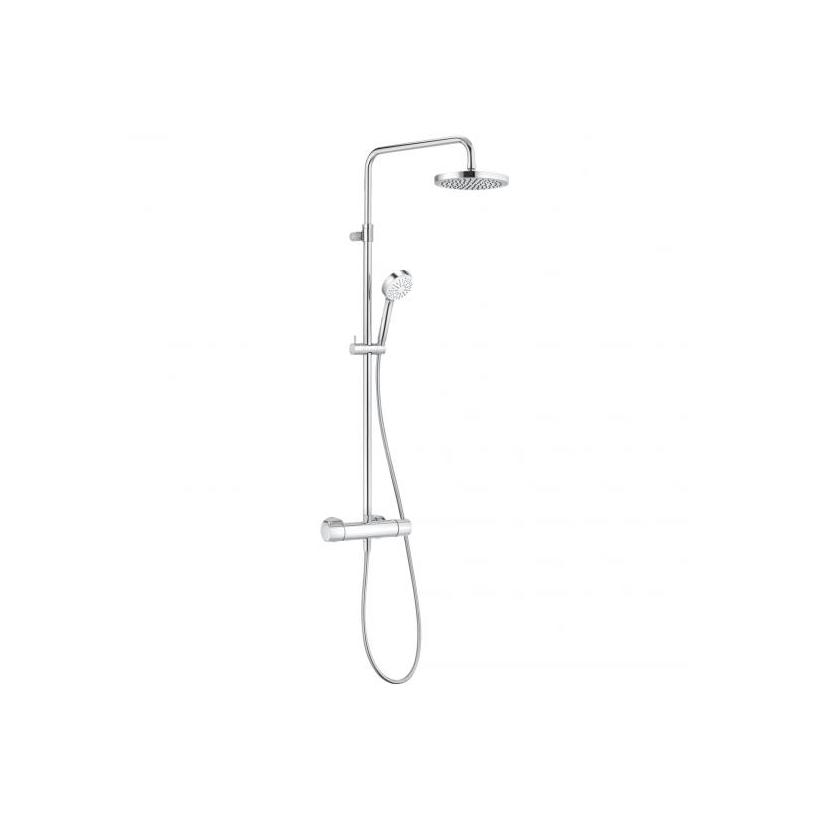 Kludi Logo Thermostat-Dual-Shower-System 6809505-00