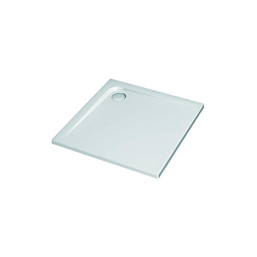 Alva aqua Alva Prisma Idea Acryl Brausetasse 90x90x4,7cm, Weiß ohne Füße K517301