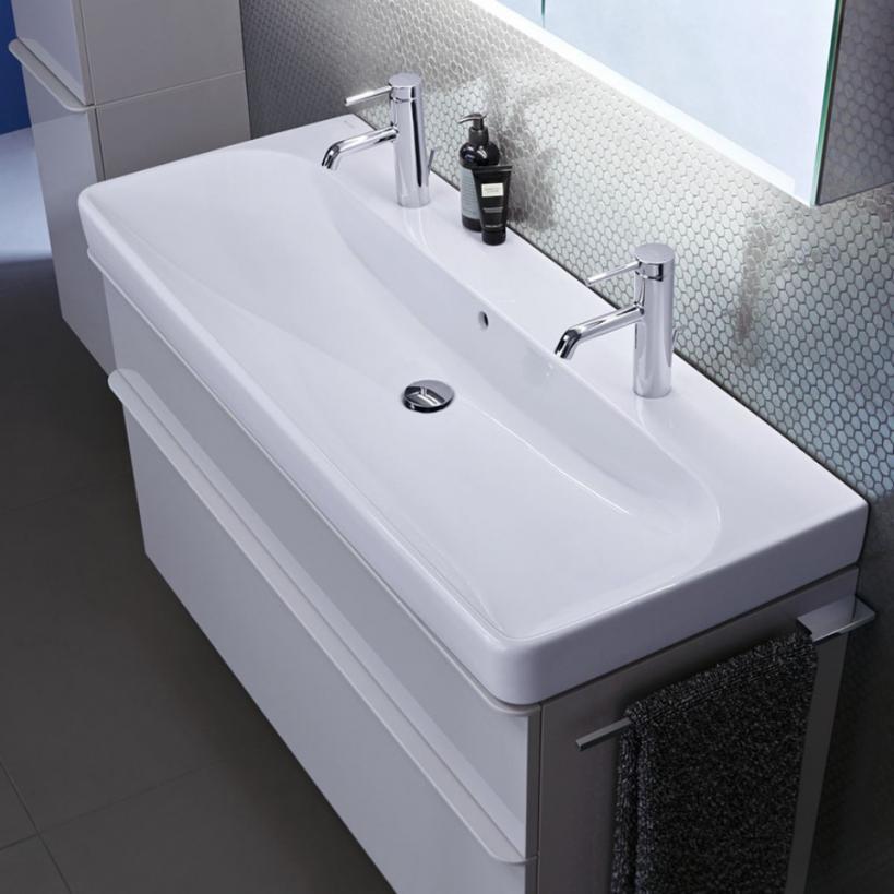 Geberit Smyle Square Waschtischunterschrank B90 884x617x470mm, weiß 500354001