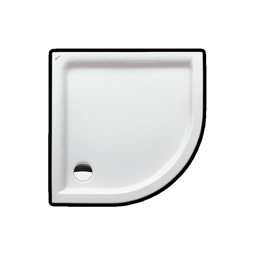 Polypex Lagune 90 Duschwanne 90/90/6cm weiß 38321