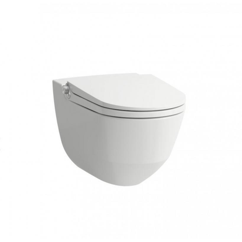 Laufen Dusch WC Cleanet Riva weiß mit LCC 8206914000001