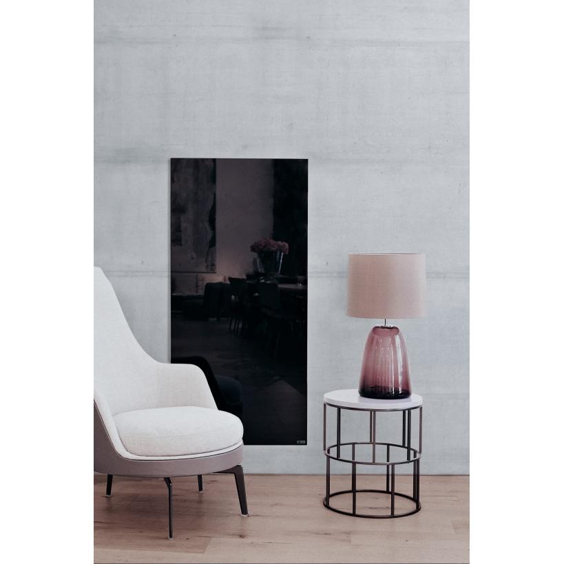 Redwell Glasheizung R600, Schwarz glatt R0600GBF0EU