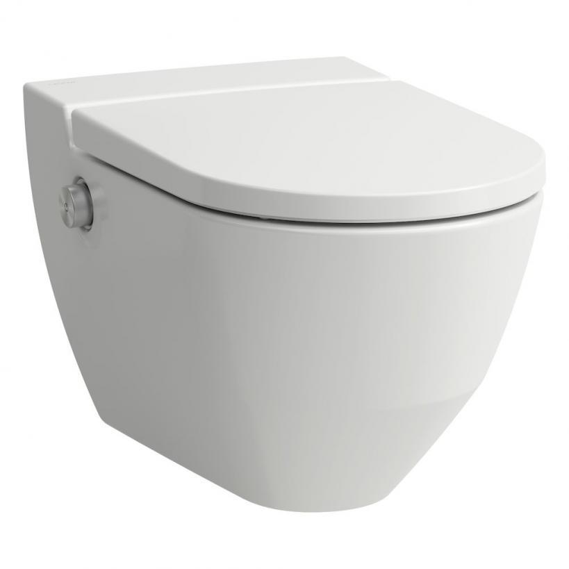 Laufen Navia Dusch-WC Cleanet Tiefspüler, rimless, weiß LCC 8206014000001