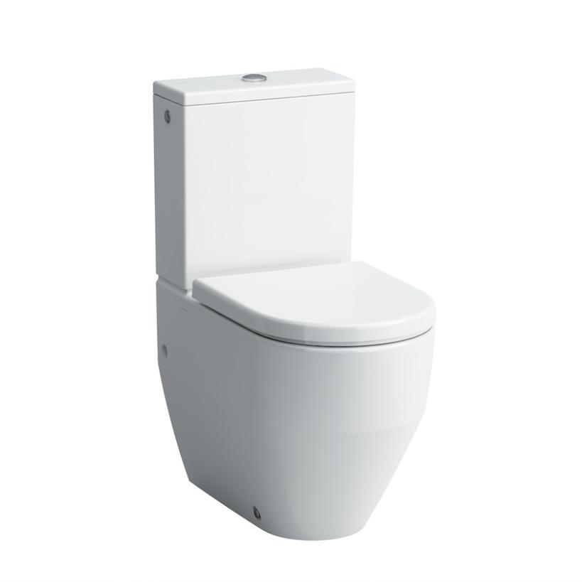 Laufen Pro Stand-Tiefspül-WC Set mit Sitz und Spülkasten