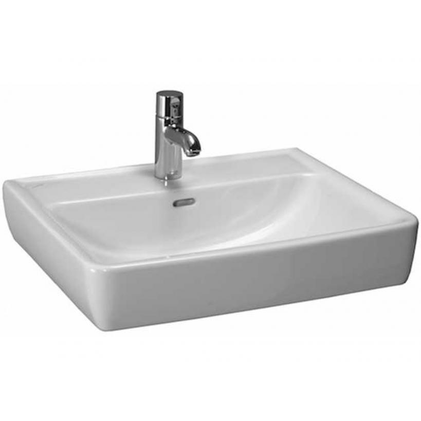 Laufen ProA Möbel-Waschtisch 60x48cm weiß, Unterseite geschliffen 8179520001041