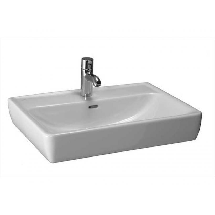 Laufen ProA Möbel-Waschtisch 65x48cm weiß, Unterseite geschliffen 8179530001041