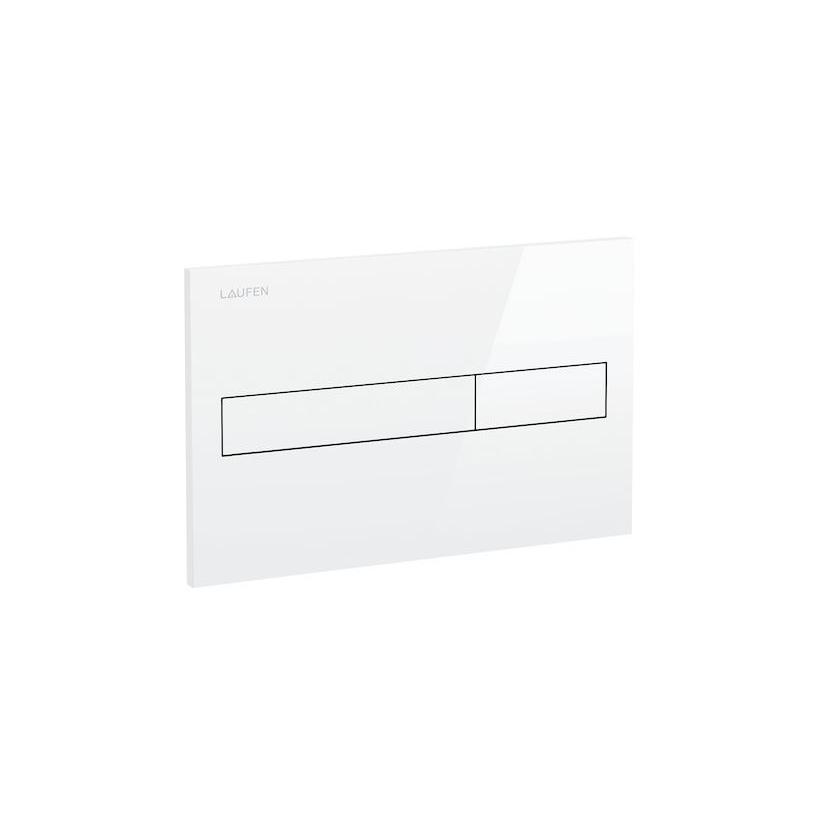 Laufen LIS AW1 Drückerplatte weiß für Zweimengenspülung 8956610000001