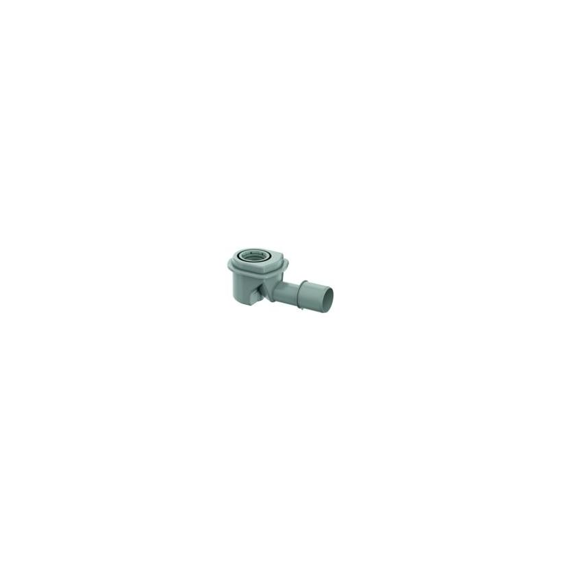 ACO Showerdrain M Ablaufk. Sperrwasserh.50mm,Einb.125-165 mm,waagr. 9010.81.20