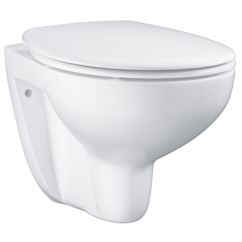 Grohe Bau Ceramic Set WC wandhängend mit WC Sitz softclose EC39351000