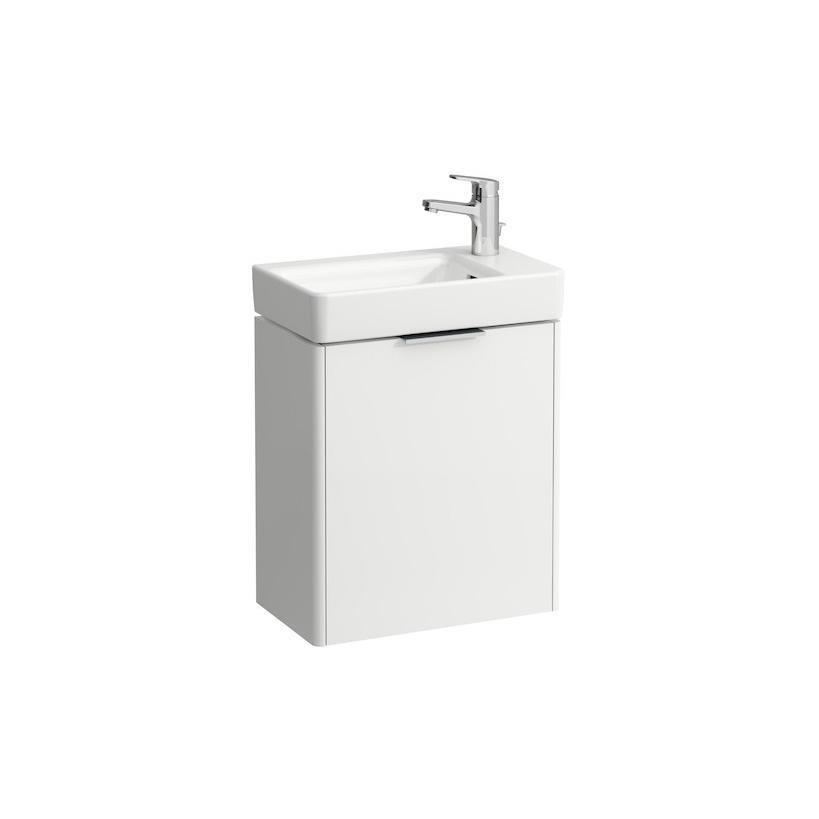 Laufen Base Waschtisch-Unterschrank 47 x 26,5 x 53cm 1 Tür weiß matt 4021021102601