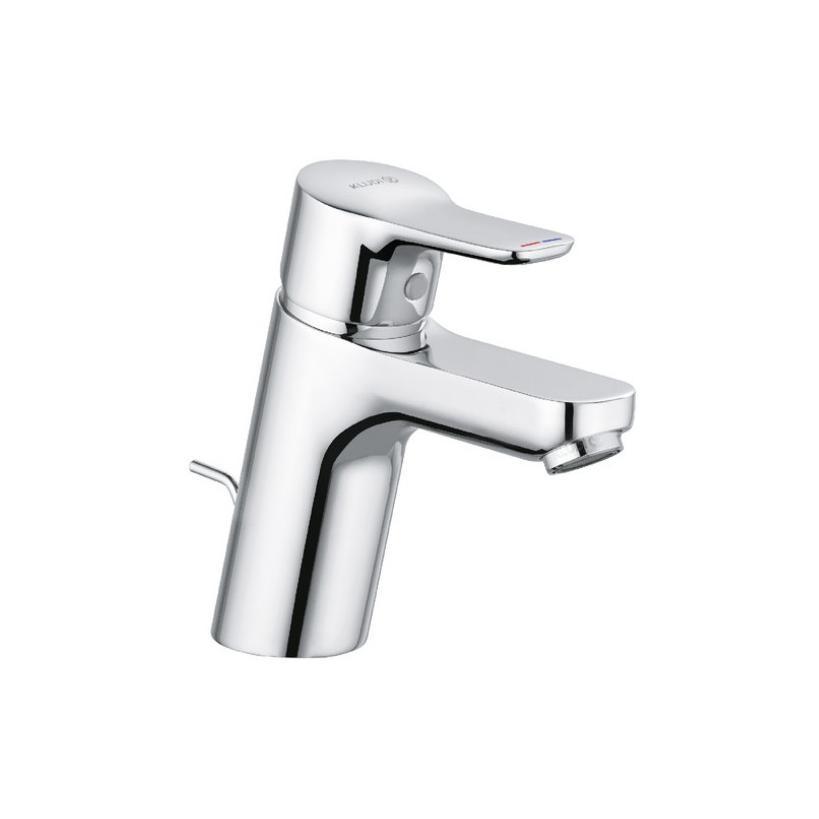 Kludi Pure&Easy WT-EH-Mischer 70 DN15 mit Ablaufgarnitur 372820565