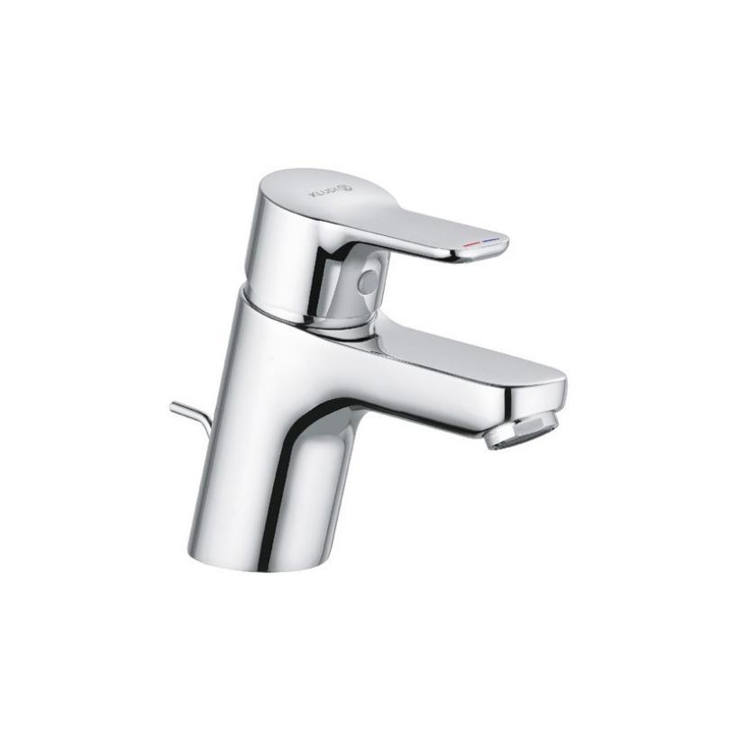 Kludi Pure&Easy WT-EH-Mischer 60 DN15 mit Ablaufgarnitur 372850565
