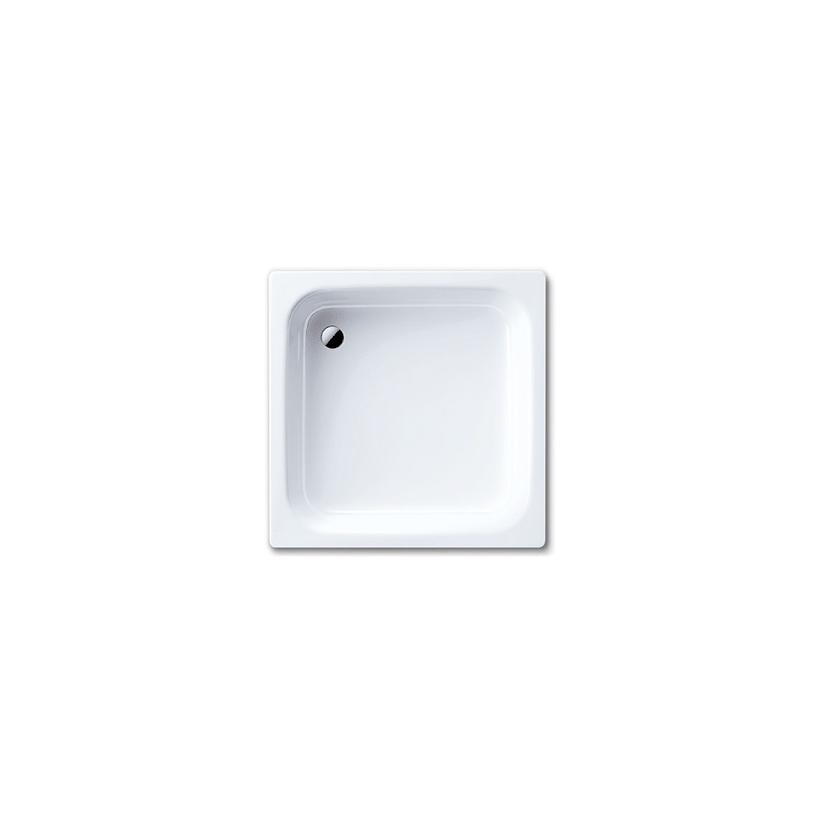 Kaldewei Sanidusch-Brausew.395  80x80x14cm 3.5 mm o.F.weiss 331000010001