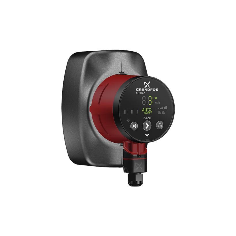 Grundfos Heizungsumwälzpumpe ALPHA2 25-80 180 1x230V 50Hz 6H D-A-CH 99261732
