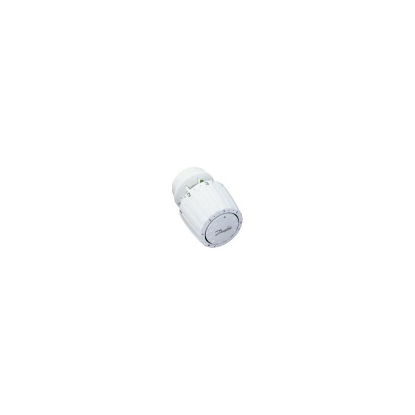 Danfoss RA 2940 Thermostatkappe Schnappbefestigung, Nullabsperrung, weiß 013G2940