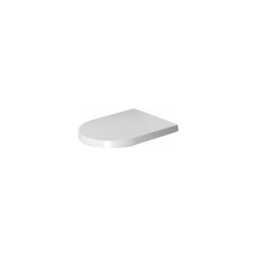 Duravit WC-Sitz ME by Starck, Weiß mit Absenka., Scharnier EDST 0020090000