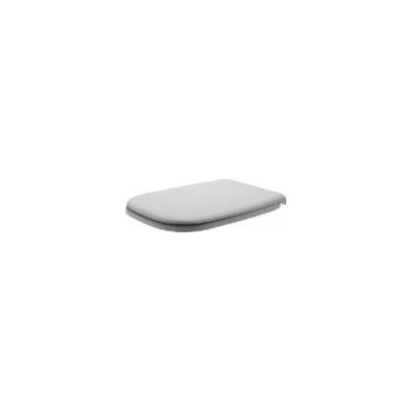 Duravit WC-Sitz D-Code, Weiß ohne Absenka., Scharnier EDST 0067310000