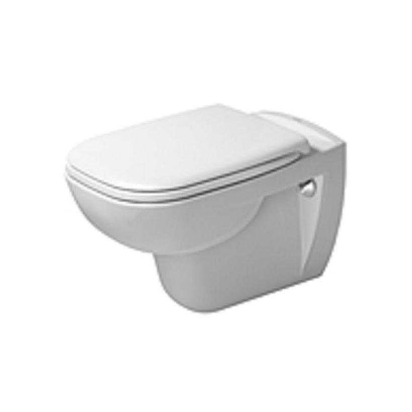 Duravit Wand-WC 545mm D-Code Weiß Tiefspüler 25350900002