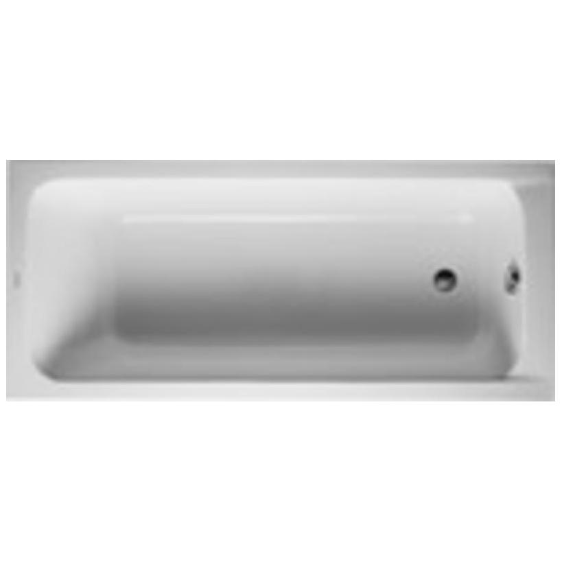 Rechteck-Badewanne D-Code Weiß 1700x750 mm DUR700100000000000