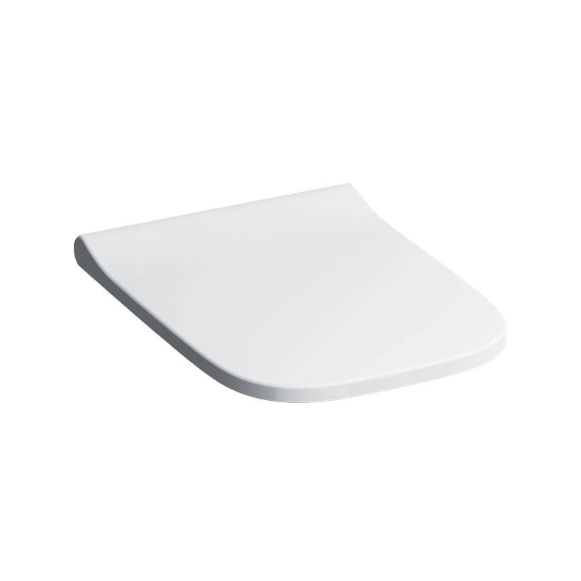 Geberit Smyle WC-Sitz m Metallscharnier weiß, Wrap Over überlappend 500238011
