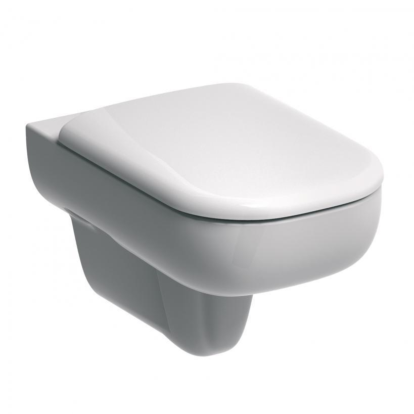 Geberit Smyle Rimfree Tiefspül-WC 6l, Breite 350 / Tiefe 540 mm wandhängend 500210011