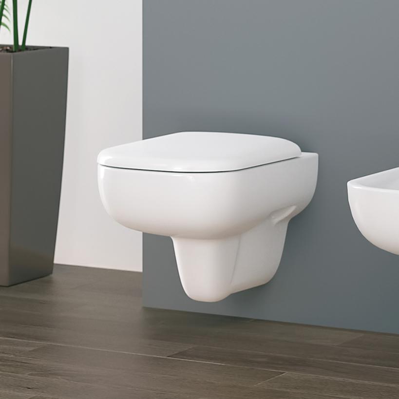 Geberit Smyle Tiefspül-WC 6l wandhäng weiß (alpin) 500211011