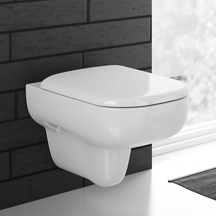 Geberit Smyle Tiefspül-WC 6l wandhäng KeraTect weiß(alpin) 500211018