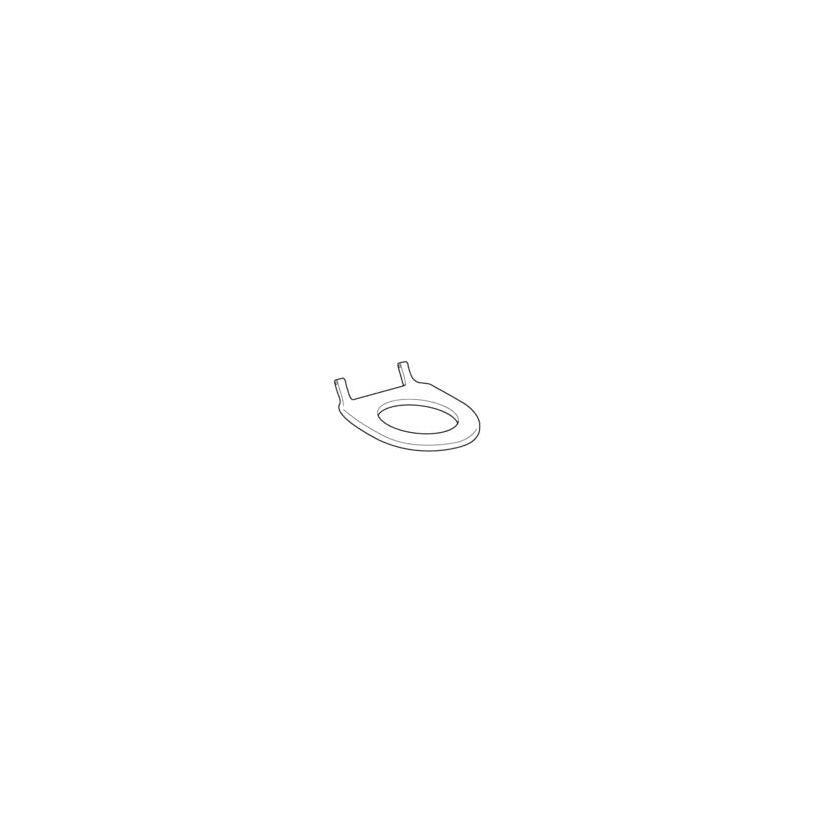 Geberit WC-Sitz zu Douche-WC-4000 weiß 147200111