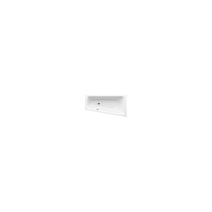 GKI Sanitär-VertriebsgesmbH GKI Passion Acryl Wanne Trapez rechts 170x90/60cm, Überlauf li., Weiß,oh. Füße SOBWE17090RW