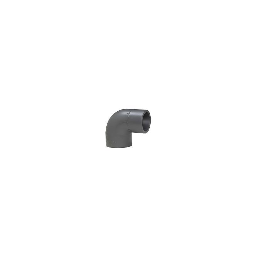 GF Rohr vormals JRG GF721100310 PVC-U Pro-Fit Winkel 90° d 50 PN16 721100310