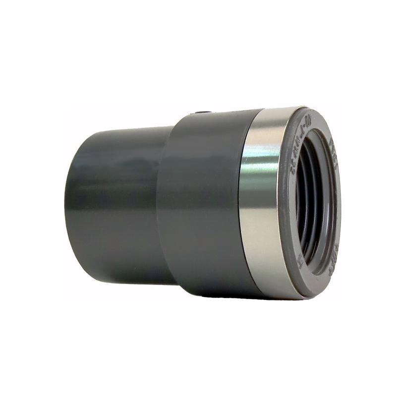 GF Rohr vormals JRG GF721910437 PVC-U Reduktions-Nippel d 25 Rp 1/2 PN16, metrisch-Rp 721910437
