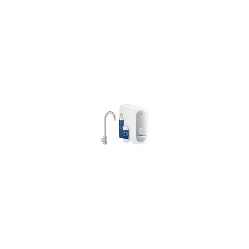 Grohe Blue Home Mono Starterkit supersteel 31498DC1
