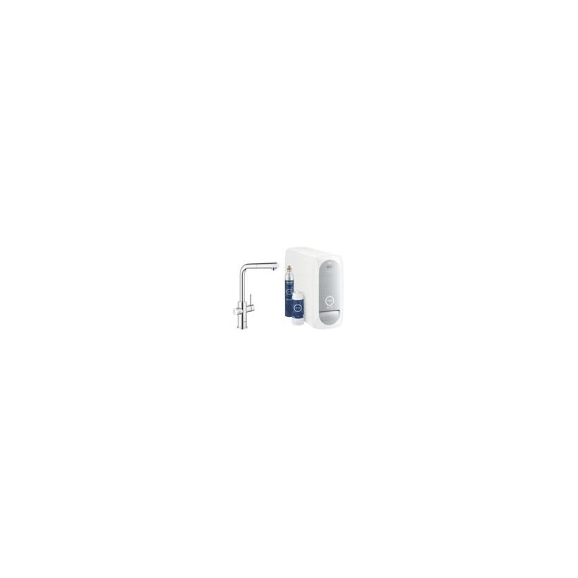 Grohe Blue Home L-Auslauf Starterkit supersteel 31539DC0