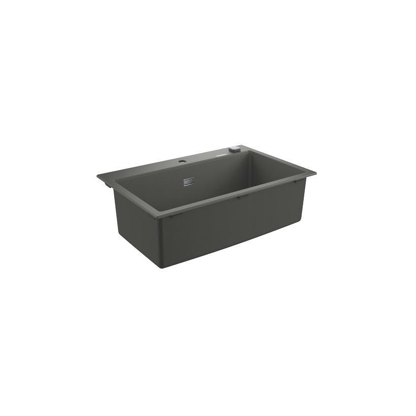 Grohe Kompositspüle K700 31652 1 Becken 780x510mm granit grau EC31652AT0