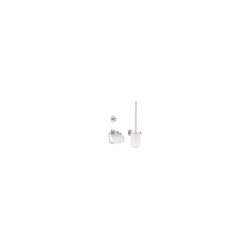 Grohe WC-Set 3 in 1 Essentials 40407 supersteel EC40407DC1