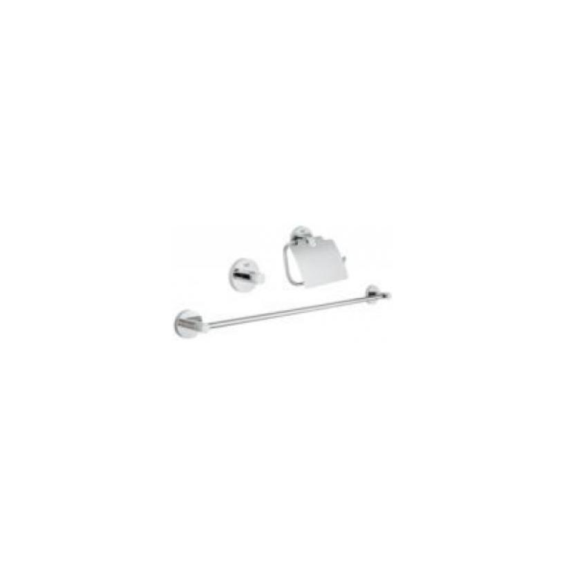 Grohe GROHE Bad-Set 3 in 1 Essentials 40775 chrom 40775001