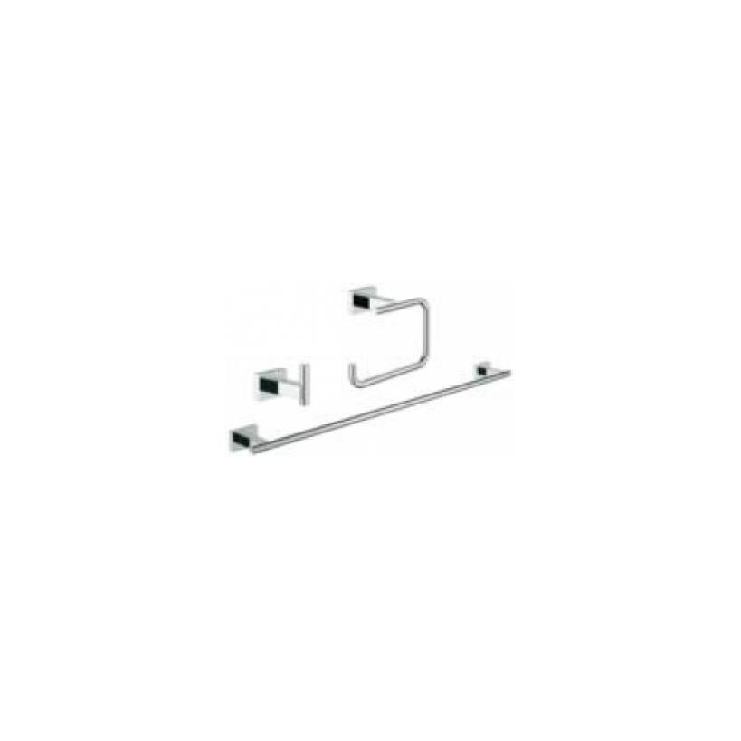 Grohe GROHE Bad-Set 3 in 1 Essentials Cube 40777 chrom 40777001