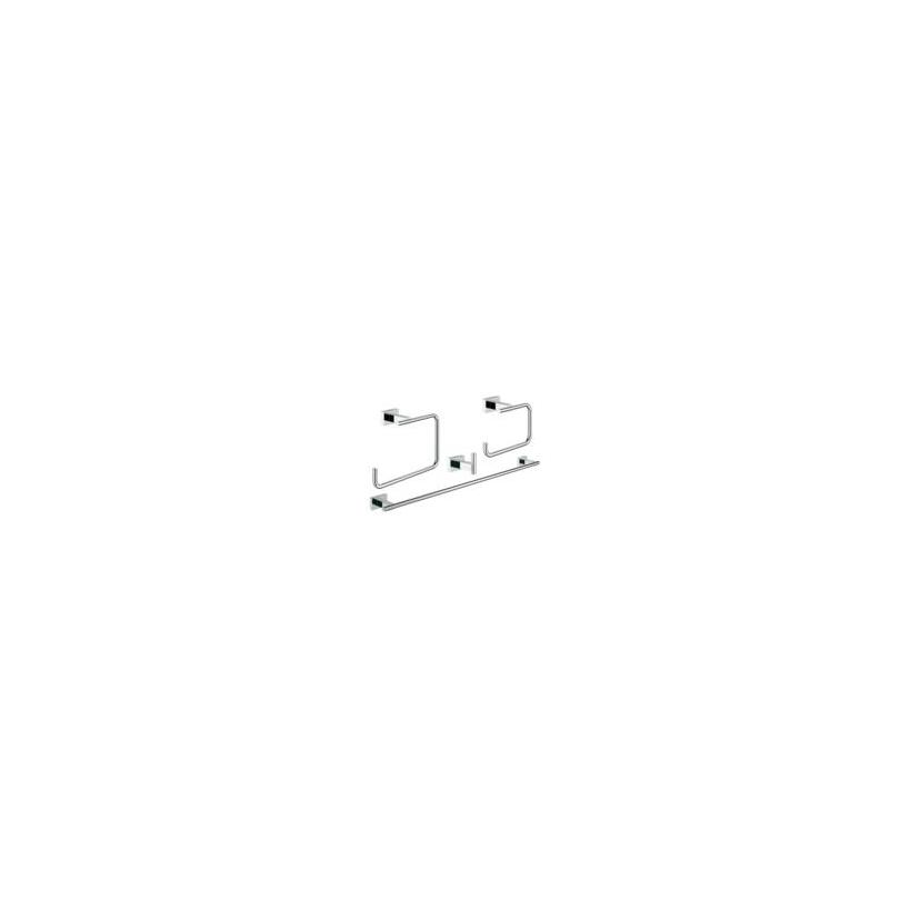 Grohe GROHE Bad-Set 4 in 1 Essentials Cube 40778 chrom 40778001
