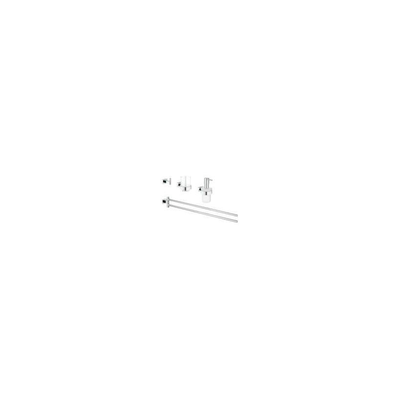 Grohe Waschtisch-Set 4 in 1 Essentials Cube 40847 chrom EC40847001