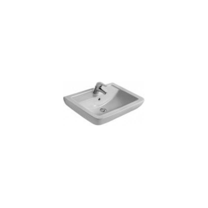 Ideal-Standard/Comfort Id.St. Eurovit Plus Waschtisch eckig 65 x 46cm, weiß V302801