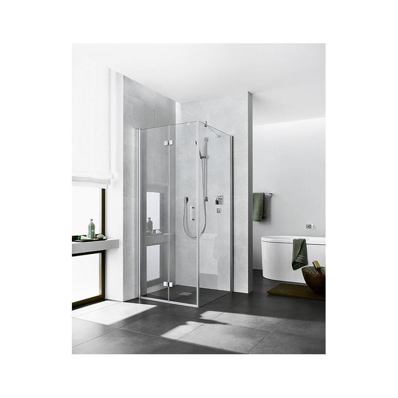 Kermi Pendel-Falttür Diga 2SR 0900x 1850 BV: 880-900 SIHG ESG Opaco Clean DI2SR09018VYK