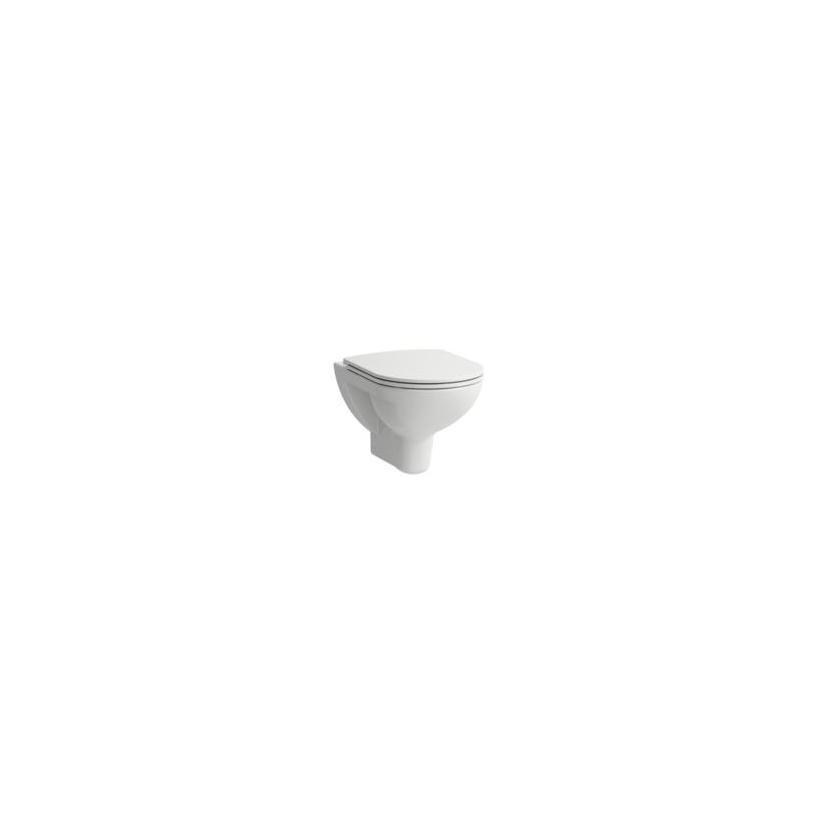 Laufen Pro Tiefspül-Hänge WC spülrandlos, weiß 8209600000001