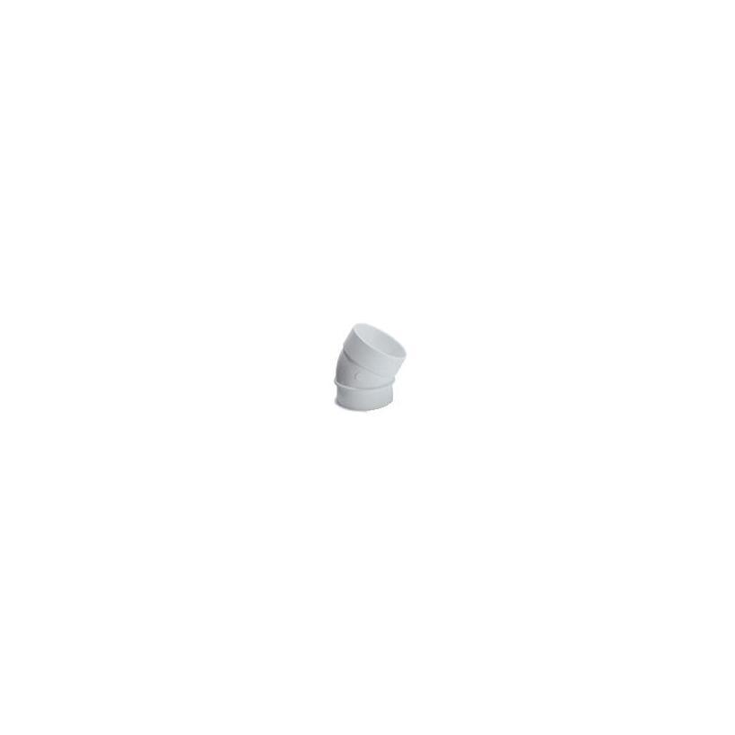 MAXXXCOMFORT AEG Bogen 45° innen/innen für Zentralstaubsauganlage H24241