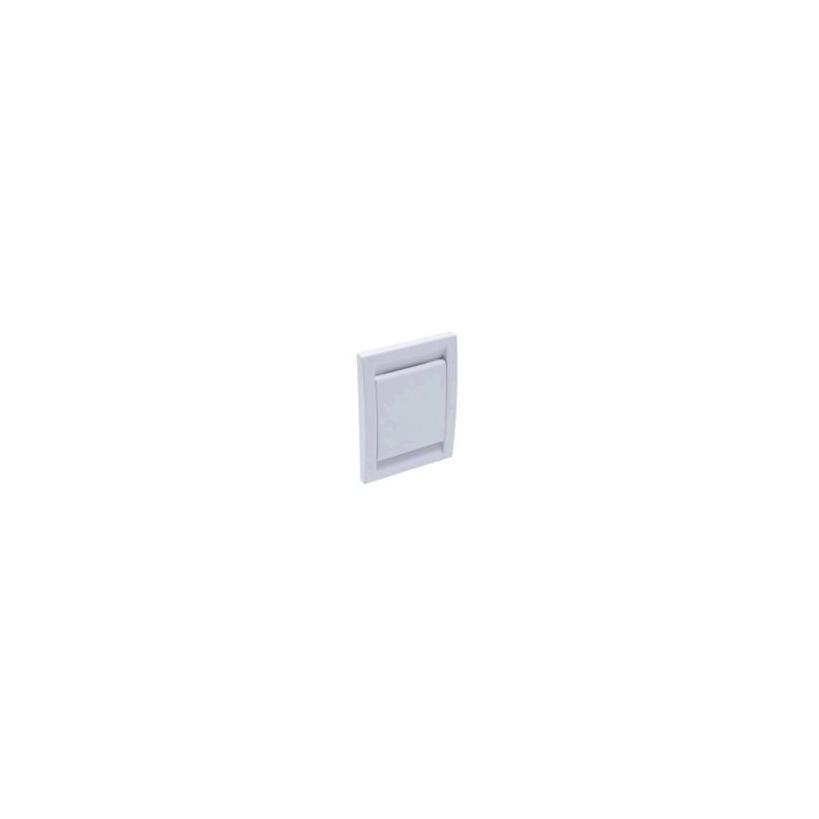 MAXXXCOMFORT AEG Saugdose FLIP-VALVE weiß 12,2 x 9,2cm, 180° nach oben, öffnend H26002