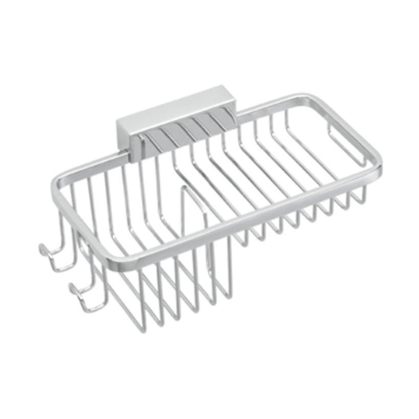 MKW Kunststofftechnik MKW Iris2 Wand-Duschmittelkorb verchromt I420-0000